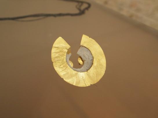 gold, enamel